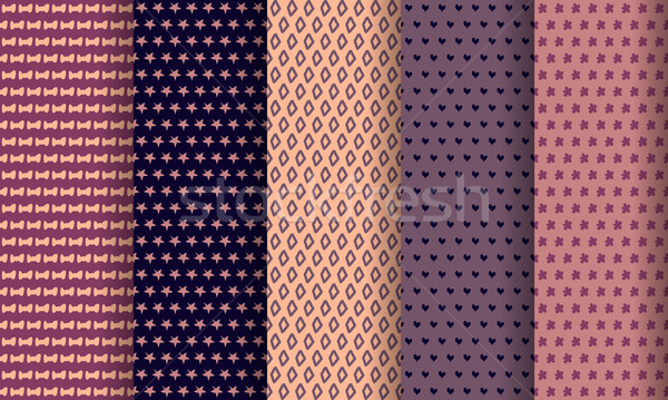 Vector establecer eps 10 papel Foto stock © blotty