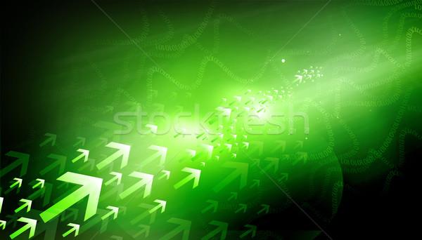 Komunikacji prędkości wzór danych środowisk Zdjęcia stock © bluebay