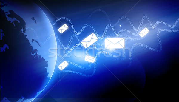 Global Communication Stock photo © bluebay