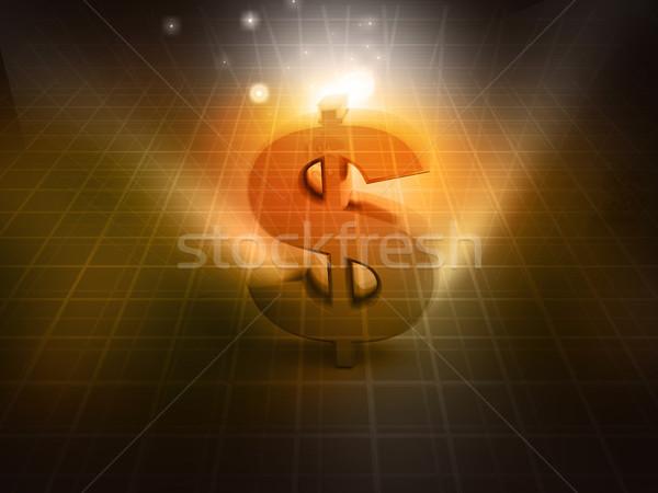 Dolar streszczenie działalności tle rynku graficzne Zdjęcia stock © bluebay