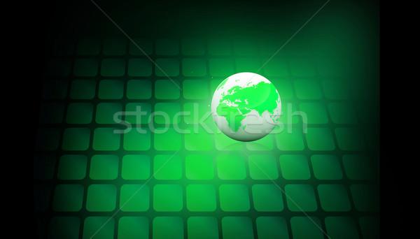цифровой мира интернет солнце свет технологий Сток-фото © bluebay