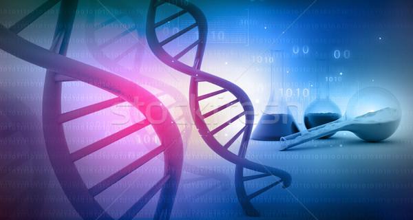 Stock fotó: DNS · labor · tudomány · építkezés · orvosi · hálózat