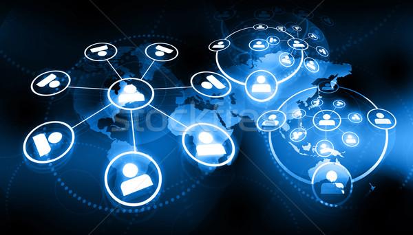 Zdjęcia stock: Global · business · sieci · ceny · świecie · świat · tle