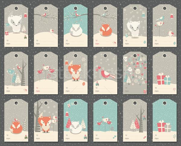 コレクション 18 クリスマス ギフト ストックフォト © BlueLela