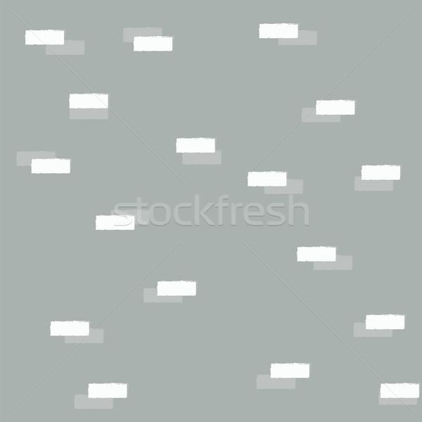 Geometric blocks, seamless pattern Stock photo © BlueLela