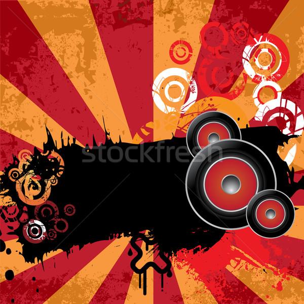 городского музыку Баннеры вечеринка аннотация Сток-фото © BlueLela