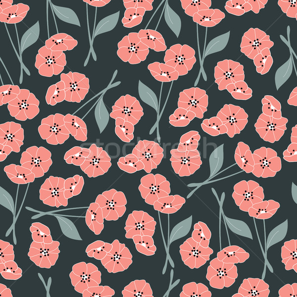 Flores floral elementos naturaleza vida Foto stock © BlueLela