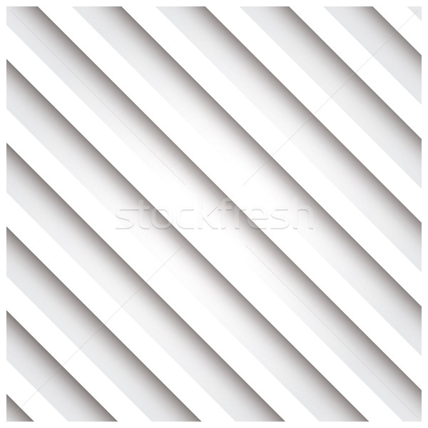 Abstract 3D stripe background, white, vector illustration Stock photo © BlueLela