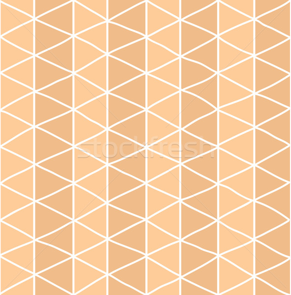 Seamless pattern with hand drawn line grid pattern Stock photo © BlueLela