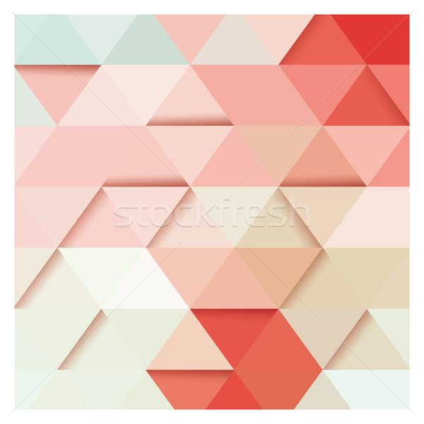 抽象的な 幾何学的な カラフル パターン デザイン 要素 ストックフォト © BlueLela