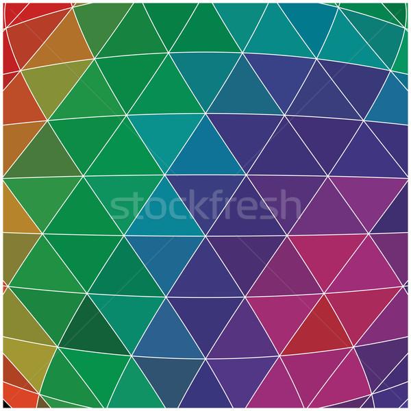 аннотация геометрический красочный шаблон дизайна Элементы Сток-фото © BlueLela