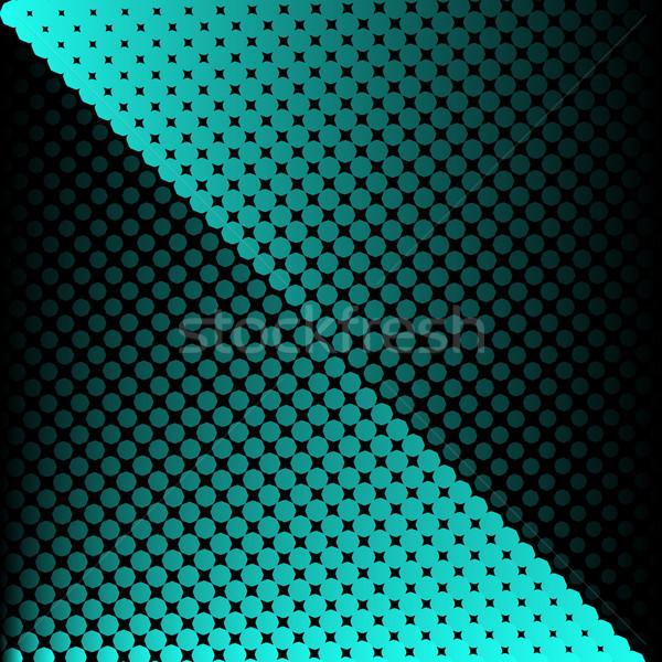 Vector halftone texture Stock photo © blumer1979