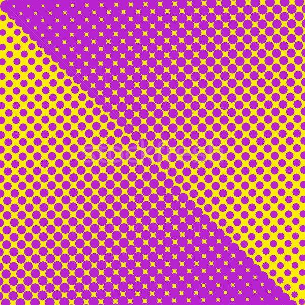 Colorful halftone texture Stock photo © blumer1979