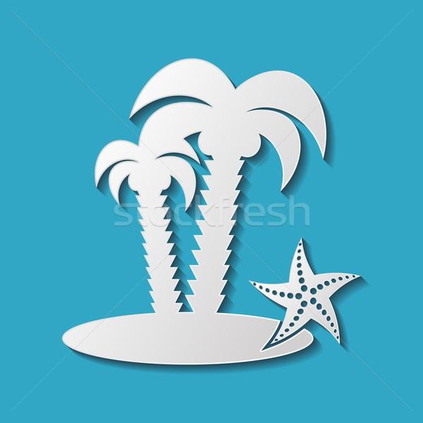 Palms Stock photo © blumer1979