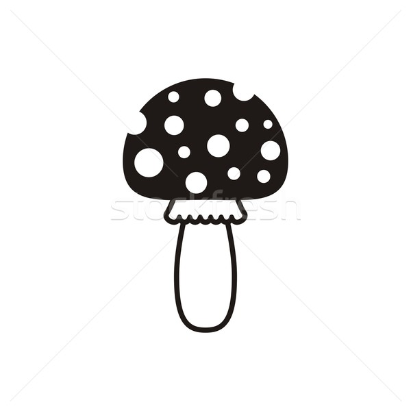 Amanita icon Stock photo © blumer1979