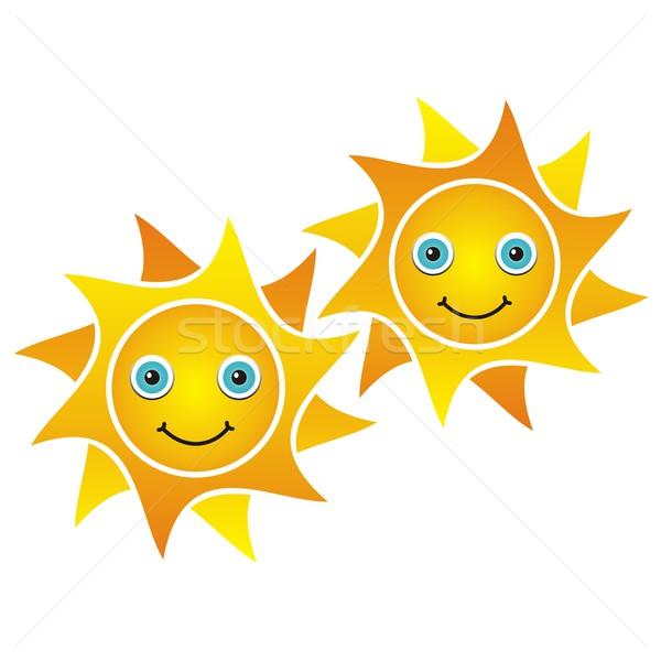 Smiling suns Stock photo © blumer1979