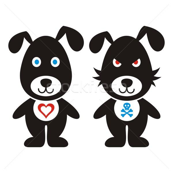 Cartoon dogs Stock photo © blumer1979
