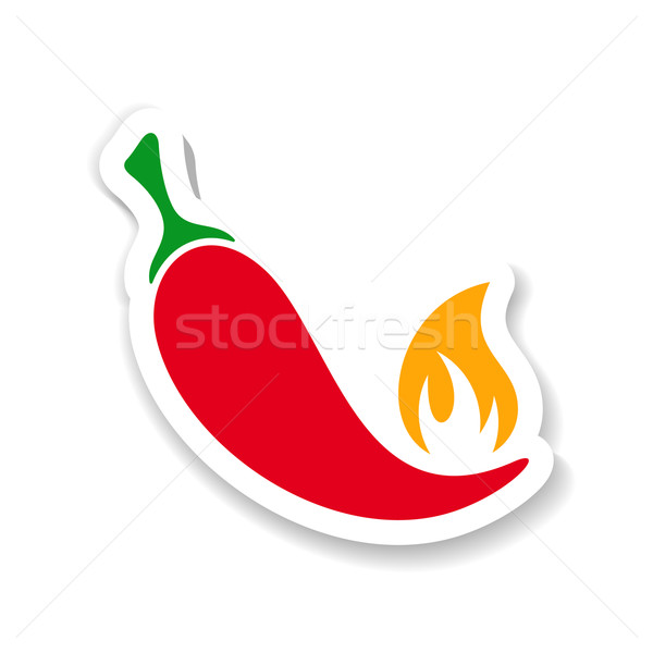 Red hot chili pepper Stock photo © blumer1979