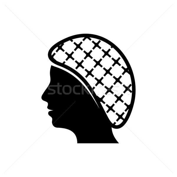 Vector hairnets must be worn icon Stock photo © blumer1979