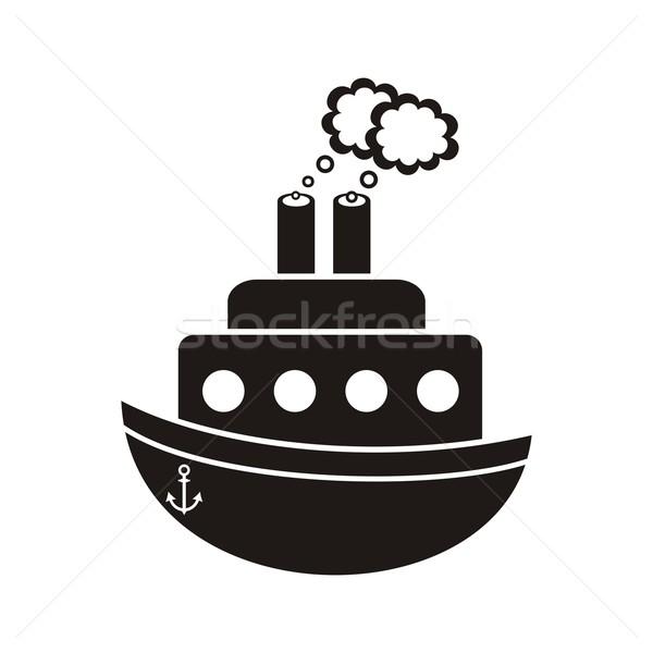 Steam ship Stock photo © blumer1979