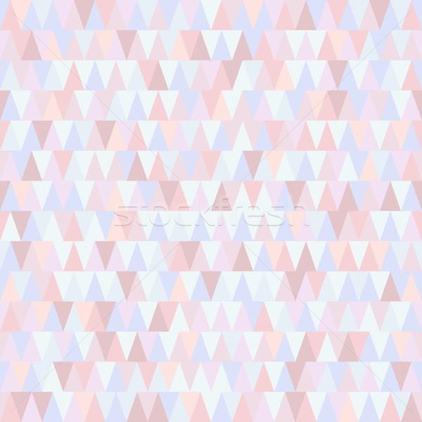 Sin costura wallpaper hermosa vector geométrico resumen Foto stock © blumer1979