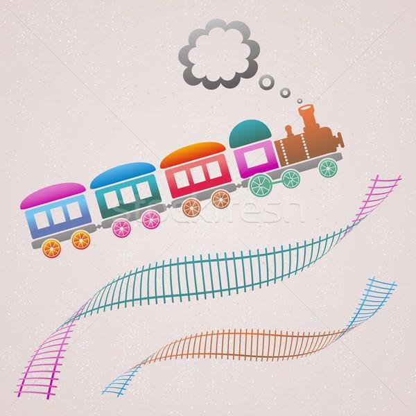Train Stock photo © blumer1979