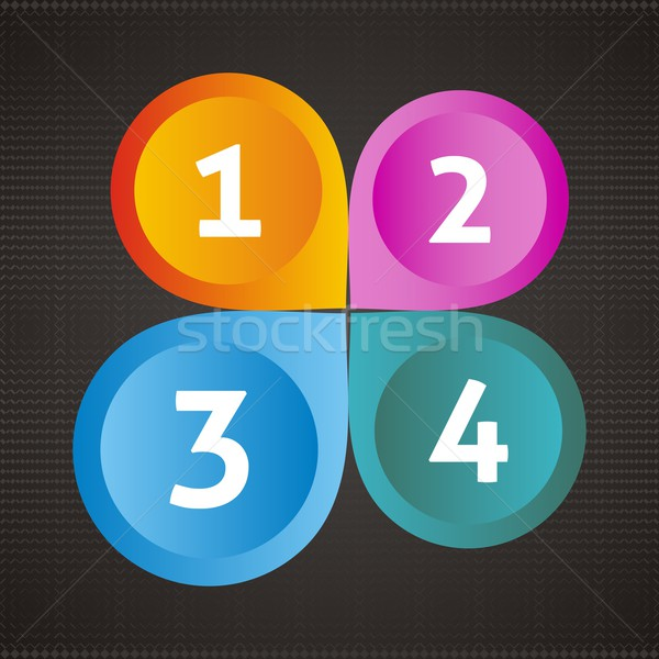 Options icons Stock photo © blumer1979