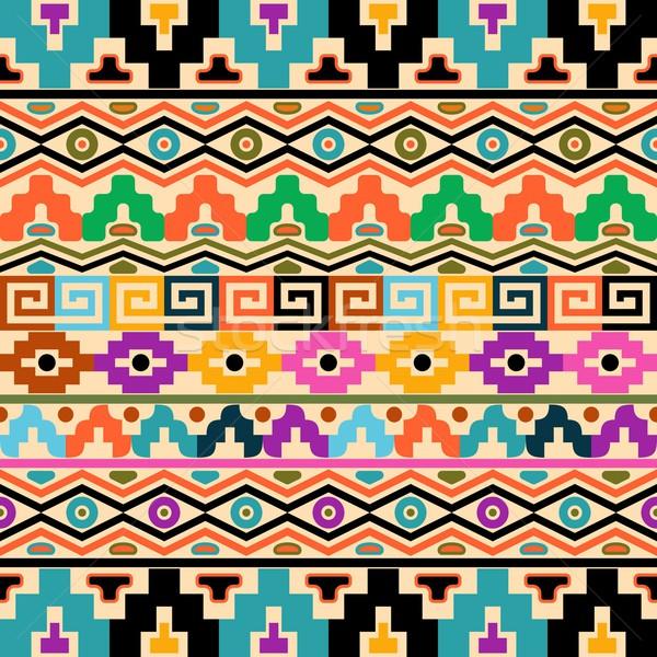 Aztec background Stock photo © blumer1979