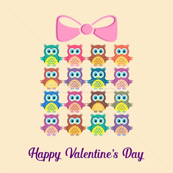 Happy valentine card Stock photo © blumer1979