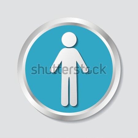 Man icon Stock photo © blumer1979