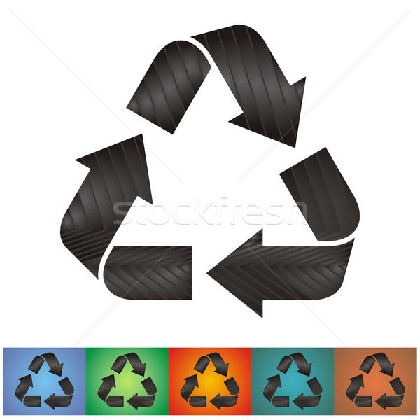 Recycle symbols Stock photo © blumer1979
