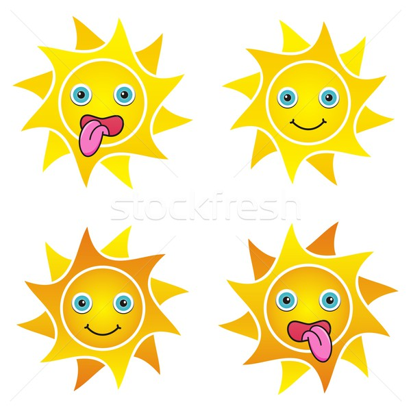 Stock photo: Suns