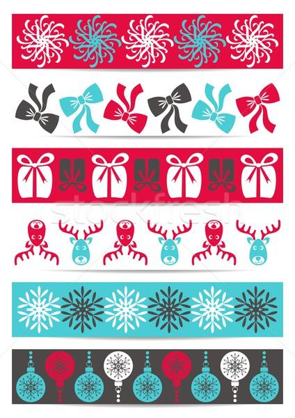 Christmas banners Stock photo © blumer1979