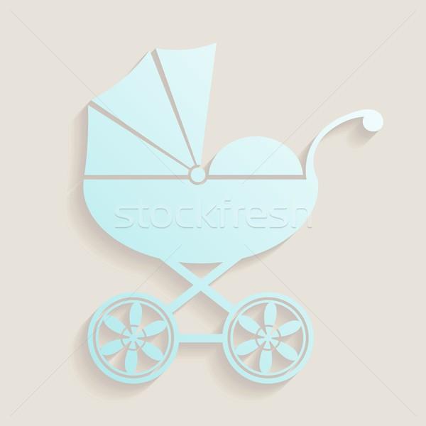 Baby shower design Stock photo © blumer1979
