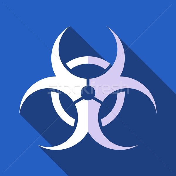 Biohazard symbol Stock photo © blumer1979