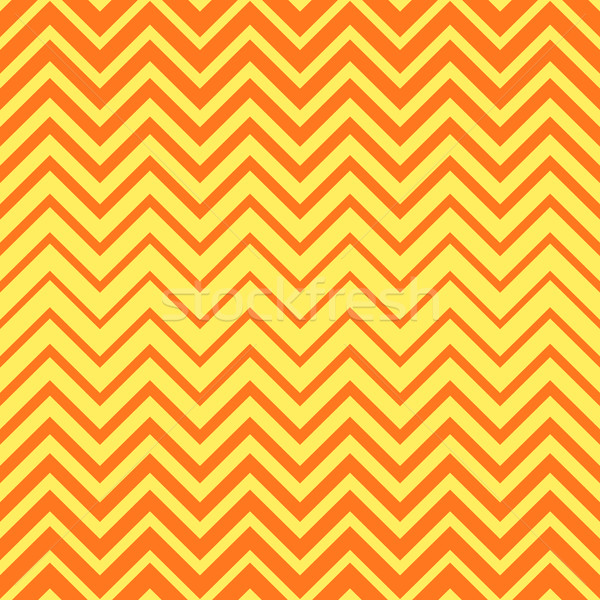 Vecteur zigzag ligne modèle orange Photo stock © blumer1979