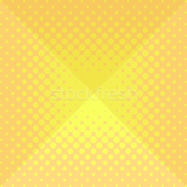 полутоновой оригами дизайна аннотация желтый вектора Сток-фото © blumer1979