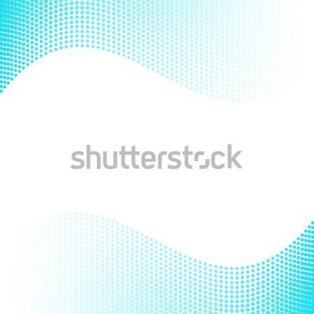 青 ハーフトーン 効果 勾配 抽象的な テクスチャ ストックフォト © blumer1979