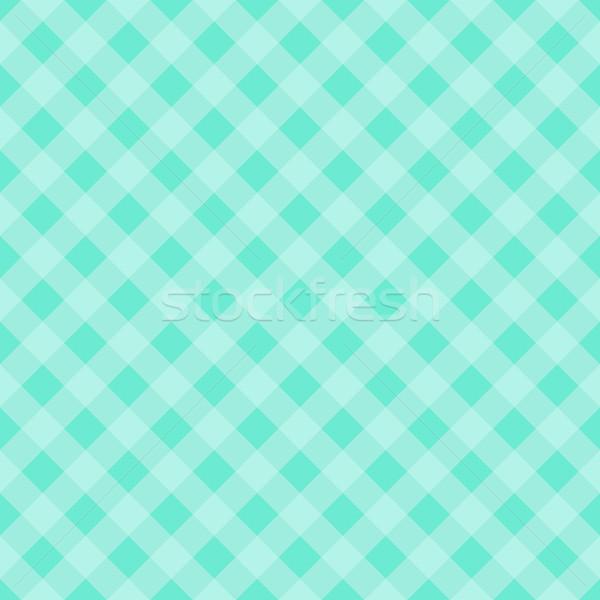 Tischdecke mint Vektor Tabelle Tuch Stock foto © blumer1979