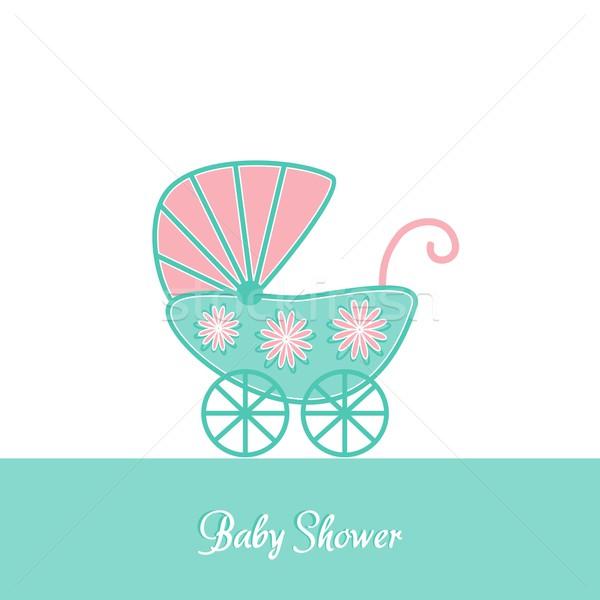 Baby shower invitation Stock photo © blumer1979