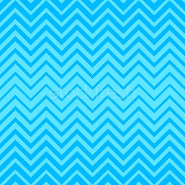 Vector sin costura zigzag patrón azul simple Foto stock © blumer1979
