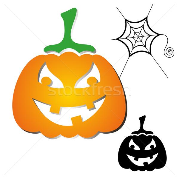 Haloween pumpkin Stock photo © blumer1979
