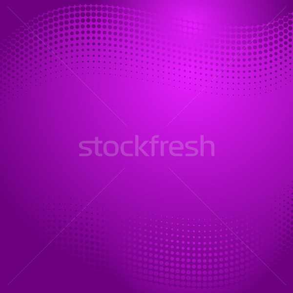 Violet halftone background Stock photo © blumer1979