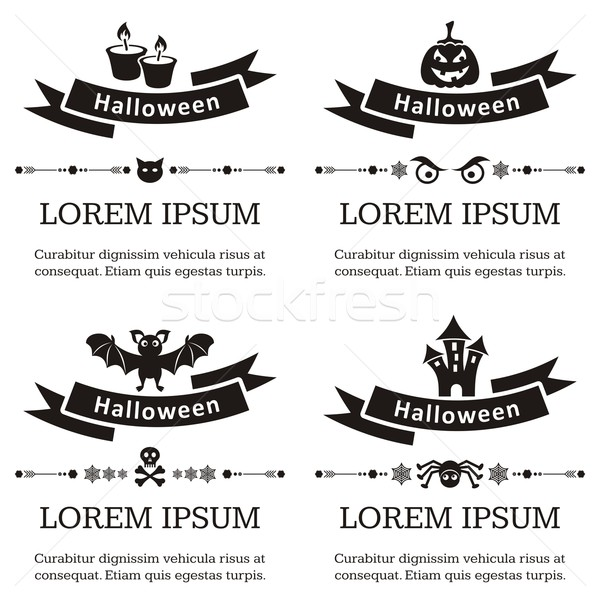 Halloween backgrounds Stock photo © blumer1979