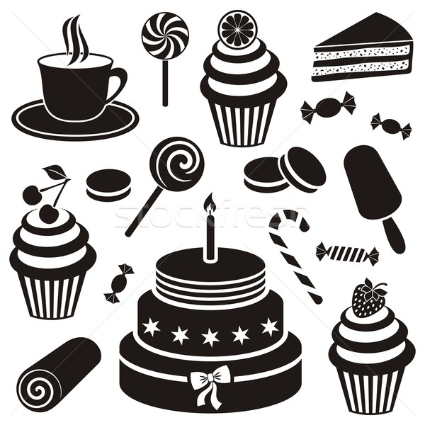 Desserts and sweets icon Stock photo © blumer1979