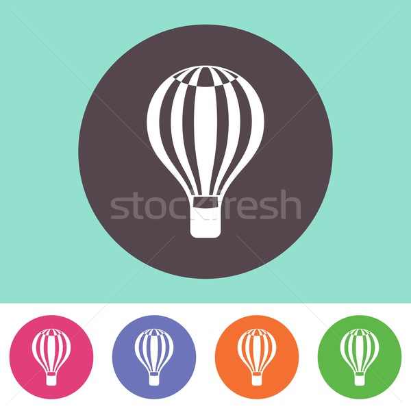 Hot air balloon icon  Stock photo © blumer1979