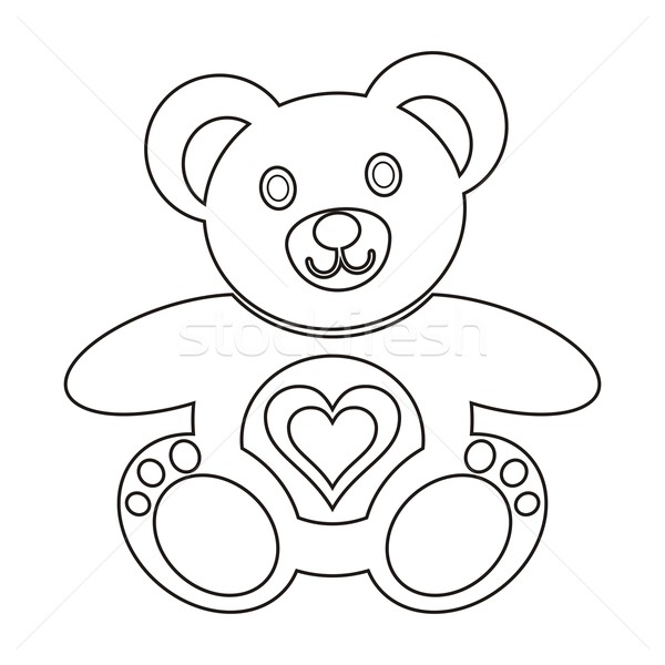 Teddy bear Stock photo © blumer1979