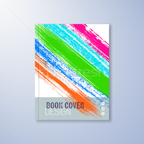 Abstract cover design template Stock photo © blumer1979