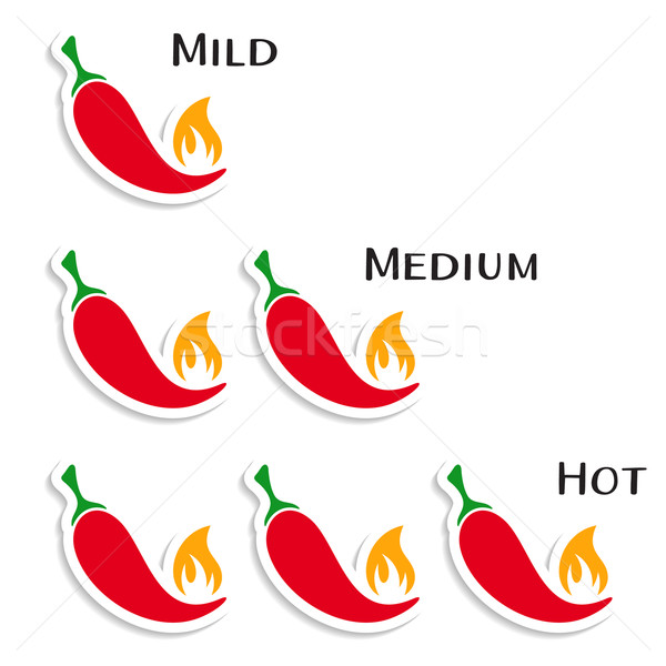 Red hot chilli peppers Stock photo © blumer1979