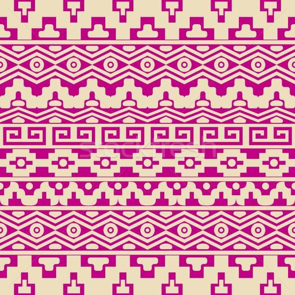 Aztec seamless pattern Stock photo © blumer1979
